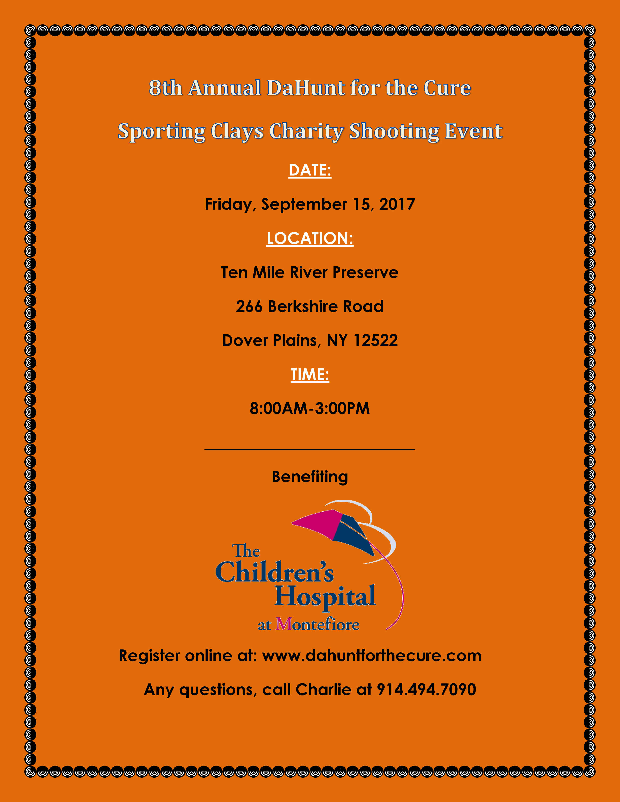 2016 DaHunt for the 7th Annual Sporting Clays Charity Shooting Event